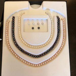Jewelry - 6pc. 10kt Pearl Set
